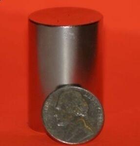 "1 Piece of 1"" x 1.5"" Strong Rare Earth Neodymium Disc Magnet Grade N45"