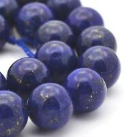Lapislazuli Perlen 8mm Rund Natur Edelstein Schmucksteine Lapis Lazuli BEST G427