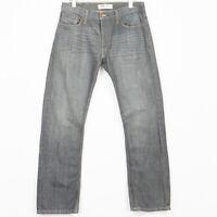 Levis 511 Jeans Coupe Slim Extensible avec Élasthanne Gris Hommes Taille W34 L32
