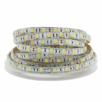 5M Dimmable SMD 5050 60LEDS/M Waterproof Warm White+White LED Strip Light 12V DC