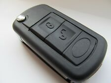 for Range Rover L322   03-09 3 button remote key fob repair case and HU92 blade