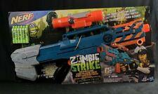 NEW Nerf Zombie Strike ZED Squad Longshot CS-12 Blaster /  BNIB * RARE *