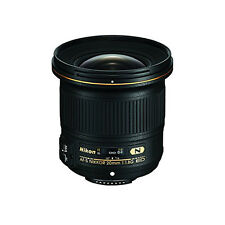 Nikon AF-S FX NIKKOR 20mm f/1.8G ED Fixed Lens with Auto Focus for Nikon DSLR