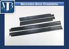N-011/ Original Mercedes W114 /8 Satz Gummibelag Schweller, Schwarz