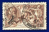 1934 SG450 2s6d Chocolate-Brown N73(1) GU New Southgate 15 SP 36 CV-FU £40 aqvh