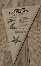 Starlight paper star that can be illuminated with light bulb new Lamp accessory