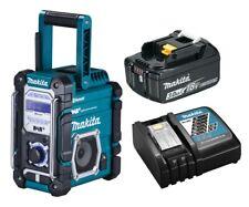Makita Baustellenradio DMR112 mit DAB+ Bluetooth + 18V Akku 3,0 Ah & Ladegerät