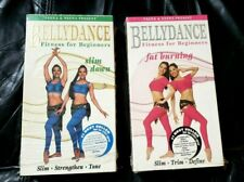 2 Bellydance Fitness for Beginners VHS Veena & Neena Slim Down, Fat Burning