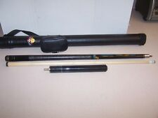 "Athena ATH02 2-Piece 57"" 17oz Pool Cue in Case With 10"" EXTENSION"