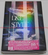 SUPER JUNIOR D&E JAPAN TOUR 2018 STYLE Limited Edition 3 DVD CD Photobook Card
