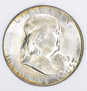 1953 S Franklin Half Dollar NGC MS65 * STAR
