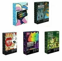 Unstable Unicorns Card Game Board 5 Expansion Packs Family Party Playing Toys