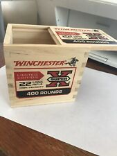 Winchester22 Long High Velocity Rifle Ammo Box