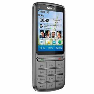 Unlocked Original Nokia C3-01 Mobile Phone 3G WIFI 5MP Camera WIFI Bluetooth MP3