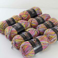 AIP Soft Baby Cotton Yarn New Hand dyed Wool Socks Scarf Knitting 8Skeinsx50g 19