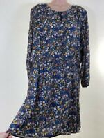 BNWOT NEXT ditsy floral garden print chiffon long sleeve tea dress PLUS SIZE 18