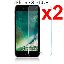 x2 Anti-scratch 4H PET film screen protector Apple iphone 8 PLUS front