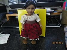 American Girl Josefina Collectable MINI 6 inch Doll 2000 Pleasent Company