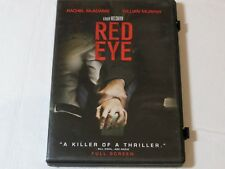 Red Eye DVD 2006 Full Frame Rated PG-13 Horror Rachel McAdams Cillian Murphy