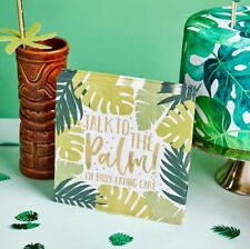TROPIC LIKE IT'S HOT TROPiCAL PATTERNED NAPKINS BALLOONS PARTY BABY SHOWER BOY