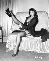 Vintage Bettie Page Pin Up Photo 992b Odd Strange & Bizarre