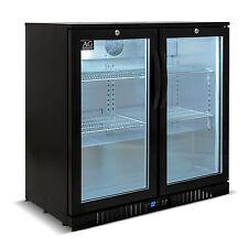 2 Door Under Bench Double Door Bar Cooler Beer fridge Bar Fridge LG Compressor