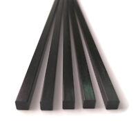 2*2-10*10mm L:10-50cm Square Carbon Fiber Bar Rod Tool RC Airplane Matte Pole AU