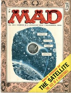 Mad   #26   VERY FINE+   November 1955   The Satellite The Size of a Basketball