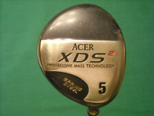 ACER XDS2 SPRING STEEL 5 WOOD  - R FLEX STEEL SHAFT - VERY GOOD CONDITION!
