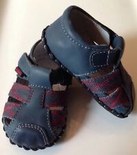 NEW ~ Pediped Originals Navy Aaron Sandal ~ 0-6 m ~ NIB ~ Shoes Baby Toddler