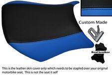BLUE & BLACK CUSTOM FITS KAWASAKI NINJA ZX6R 05-06 600 FRONT SEAT COVER