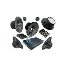 "COM 626CARS CDT AUDIO 6.5"" COMPONENT SPEAKERS + 4 CH AMPLIFIER + 10"" SUBWOOFER"