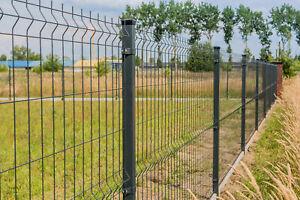 Stabmatten Zaun 20 m Zaunset Einstabmatten Einfachstabmatten SOFORT lieferbar