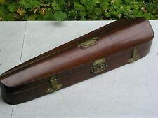 alter schöner brauner Geigenkasten - Kasten für Geige zum Herrichten