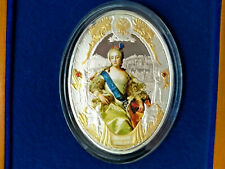 Niue 2014 2$ ELIZABETH I,Russian Emperors 2 oz silver 999 PROOF