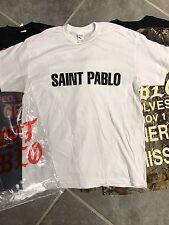 KANYE WEST Saint Pablo Tour Sacramento T-shirt Saint Pablo Logo Size Large L