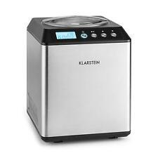 Máquina de helados Klarstein Vanilla Sky del hielo con compresor
