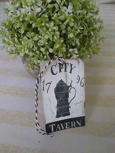 Primitive City Tavern 1796 Tags