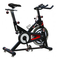 New Vortex V500 Indoor Spin Bike with computer monitor and 18kg flywheel