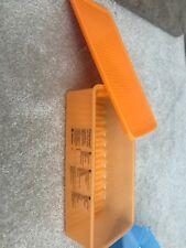 TUPPERWARE LARGE FRIDGESMART ORANGE KEEPER #3995