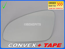 For OPEL ASTRA J 2010-2015 Wing Mirror Glass CONVEX + TAPE Left Side #367