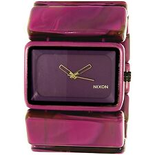 Nixon Women's Vega A726643 Purple Plastic Quartz Fashion Watch