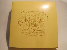 Vintage Avon 1982 Mothers Day Plate With Easel