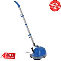 "11"" Electric Mini Floor Scrubber Cleaner Polisher Hard Floor Buffer + Floor Pads"