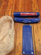NOS Vintage Old School 80's Invader Competition Certified  RAD PAD BMX Pad Set