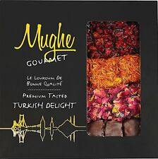 Luxury Assorted Turkish Delight Pistachio & Rose,Pomegranate Flavour 350gr