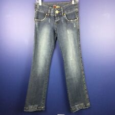 Bnble Women's Embellished Jeans Size 28 Studded Outer Seams Button Fly NWT