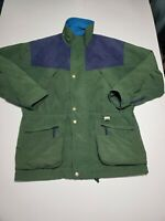 Vintage Head Exploration Jacket Mens Size Large Green Multiple Pockets