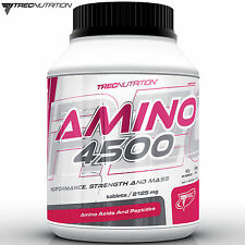 AMINO 4500 125 Tablets BCAA + Essential Amino Acids Whey Protein Pills Anabolic