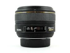 Sigma 30mm f1.4 EX DC HSM  for Canon Lens